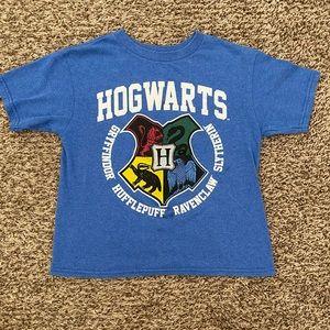 Kids Harry Potter Hogwarts crest blue tee shirt